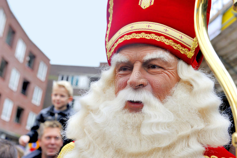 Zamyka up Sinterklaas obrazy royalty free