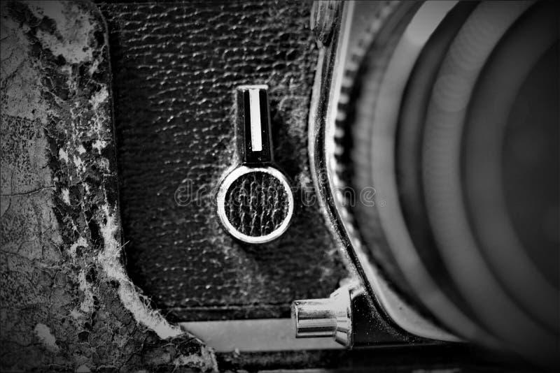 Zamyka w górę analogowej kamery zdjęcia stock
