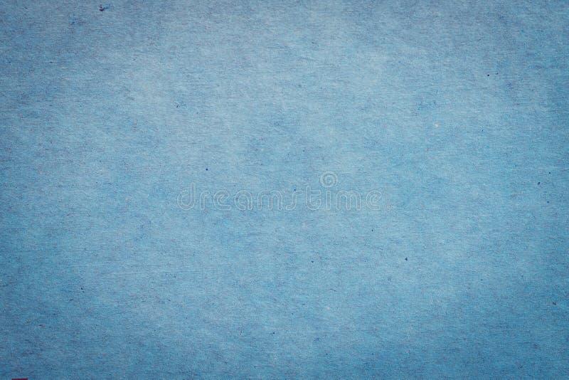 Zamyka w górę błękitnego papieru tła z przestrzenią i tekstury zdjęcia stock