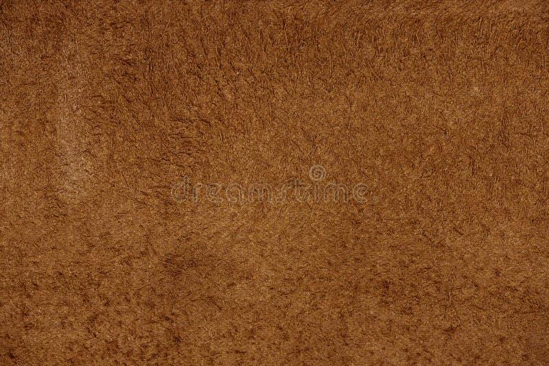 Zamyka w górę brąz prawdziwej skóry tekstury tła obraz royalty free