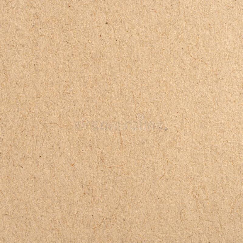 Zamyka w górę brown Kraft papieru tła i tekstury zdjęcia royalty free