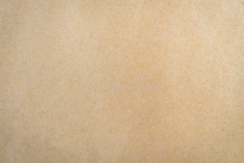 Zamyka w górę brown papieru tła i tekstury zdjęcie stock