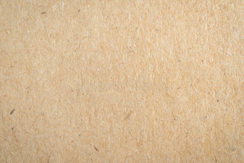 Zamyka w górę brown papieru tła i tekstury obraz royalty free