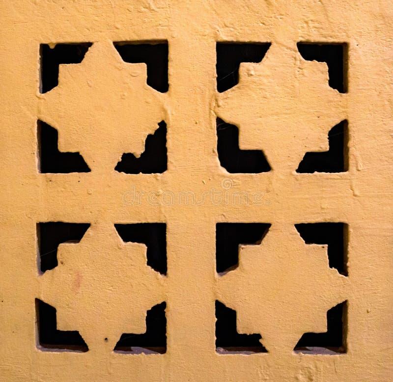 Zamyka w górę dekoracyjnej metal wentylaci siatki obrazy royalty free