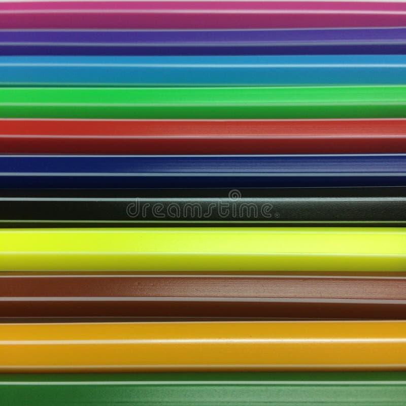 Zamyka w górę kolorowych piór zdjęcia royalty free