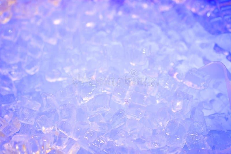 Zamyka w górę kostka lodu dla miarowych napojów obrazy royalty free