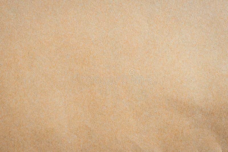 Zamyka w górę Kraft brown papieru tła i tekstury zdjęcie stock