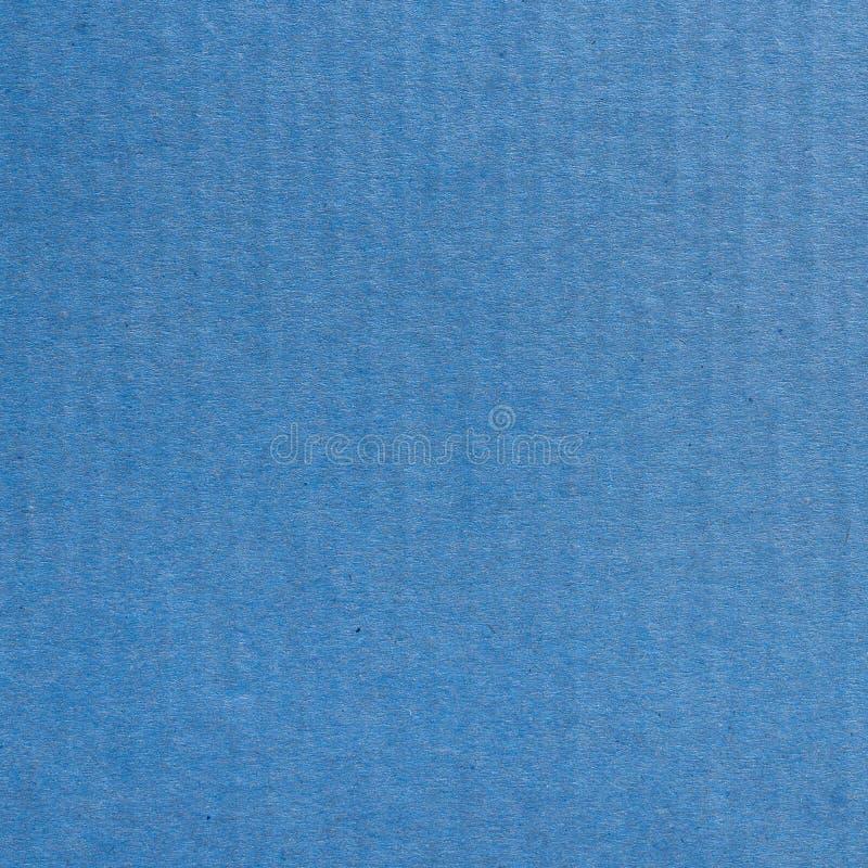 Zamyka w górę Kraft kartonu papieru błękitnego tła i tekstury fotografia royalty free