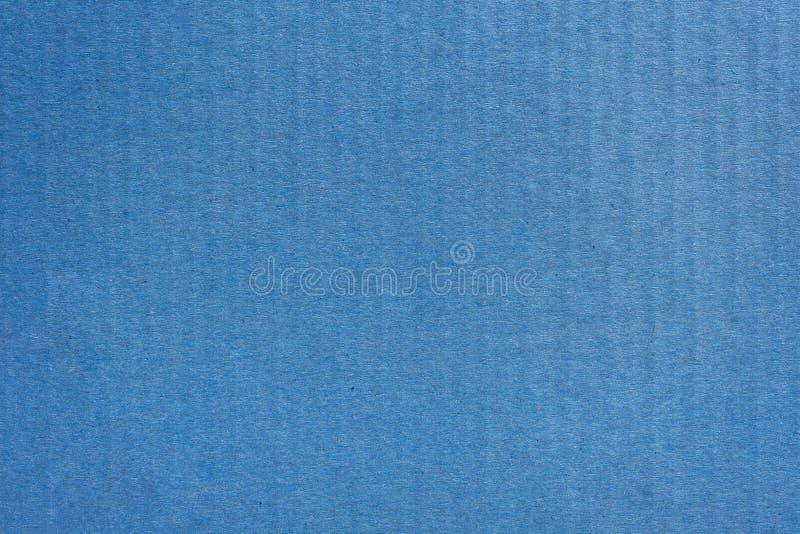 Zamyka w górę Kraft papierowego pudełka błękitnej tekstury i tła obraz royalty free