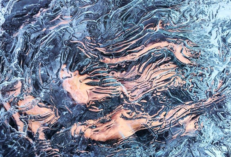 Zamyka w górę Różowej epoki lodowcowej obraz stock