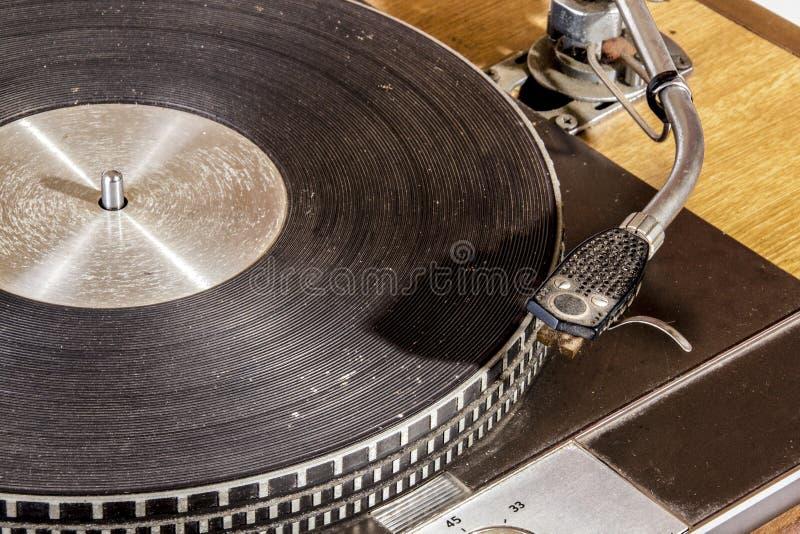 Zamyka w górę rocznika zwrota Grungy Dokumentacyjnego Bawić się stołu obrazy royalty free