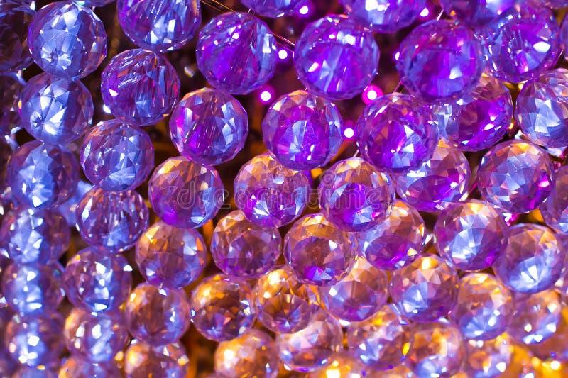 Kryształ w liniach zdjęcia stock
