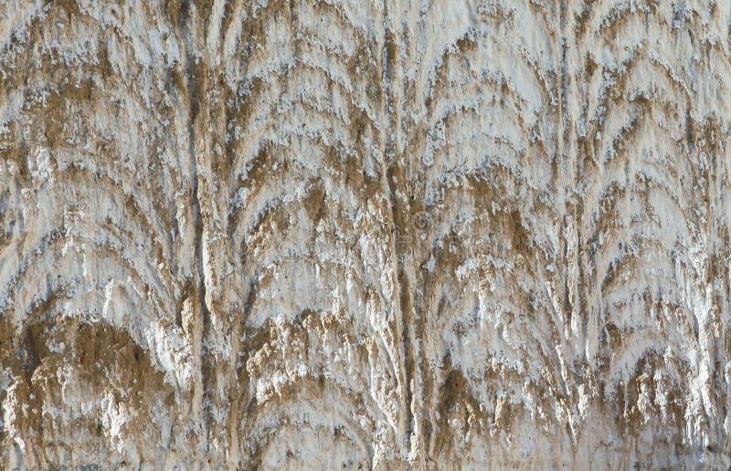 Zamyka w górę tekstury biel ściana antyczny monaster w Tybet obrazy royalty free