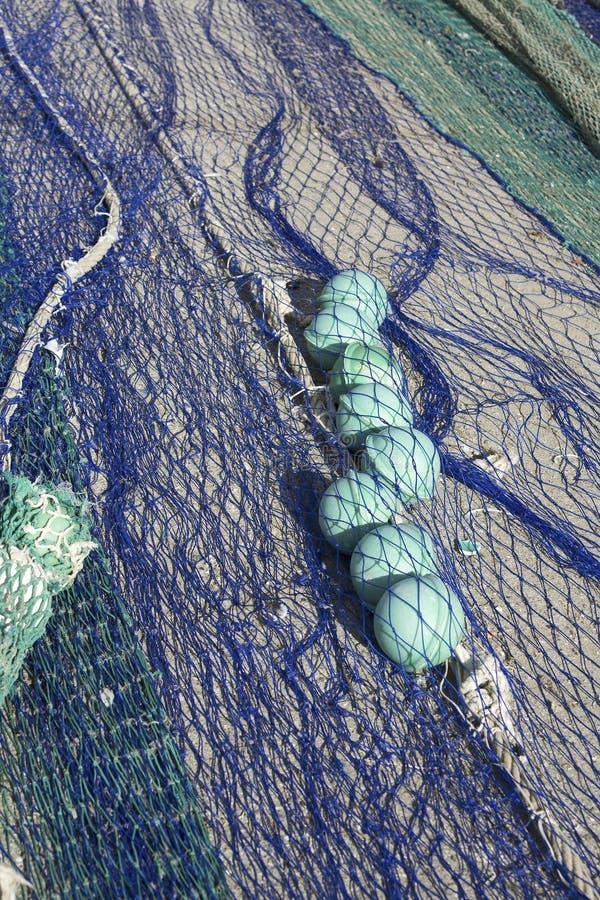 Zamyka w górę widoku sieć rybacka fotografia stock