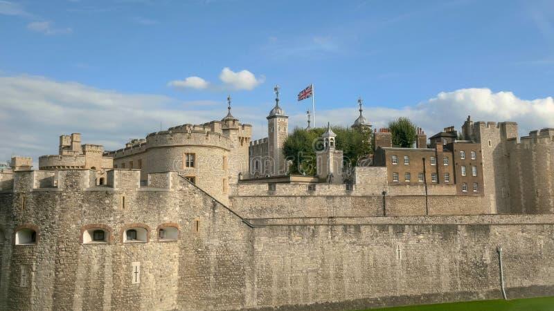 Zamyka w górę widoku wierza London, Zjednoczone Królestwo obraz royalty free