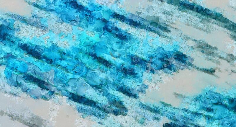 Zamyka w g?r? nafcianej farby abstrakta t?a Sztuki textured brushstrokes w makro- Część obraz Starego stylu grafika Brudna akware zdjęcie stock