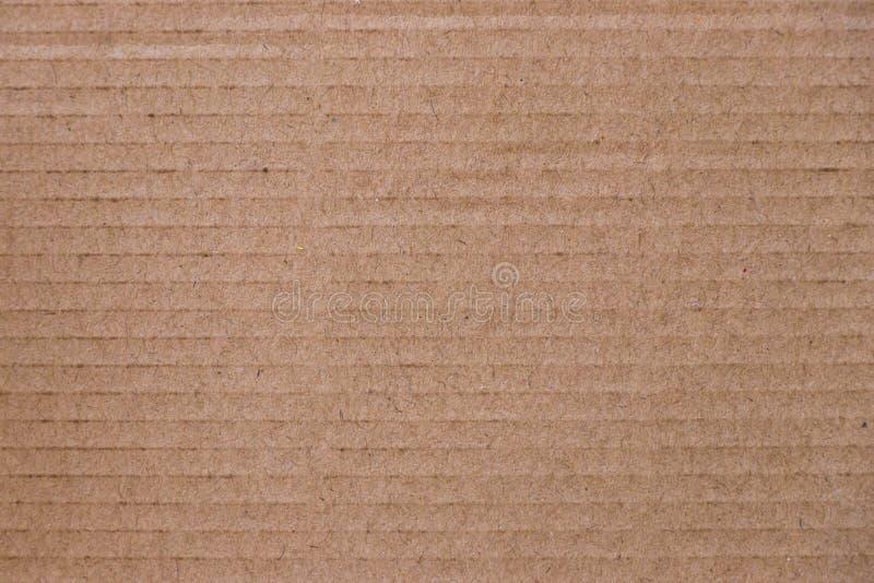 Zamykający w górę brązu Kraft papieru tekstury tła obraz stock