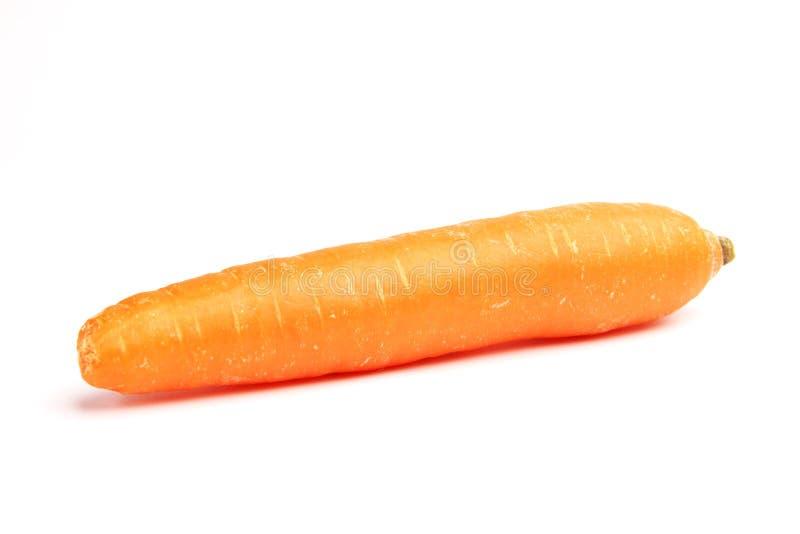 Zanahoria aislada fotos de archivo libres de regalías