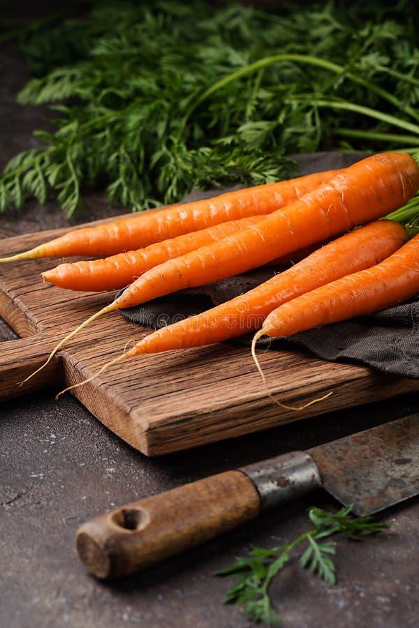 Zanahoria fresca y dulce imagen de archivo libre de regalías