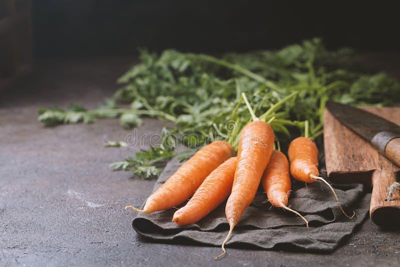 Zanahoria fresca y dulce foto de archivo libre de regalías