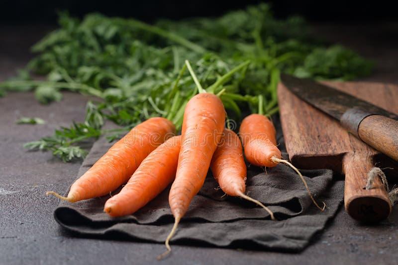 Zanahoria fresca y dulce fotografía de archivo libre de regalías