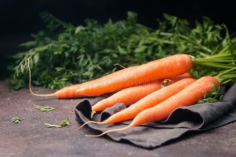 Zanahoria fresca y dulce fotos de archivo libres de regalías