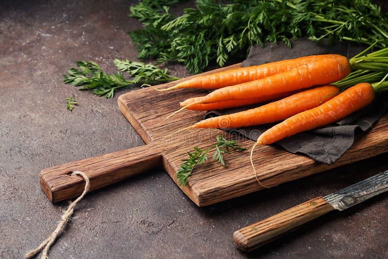 Zanahoria fresca y dulce fotos de archivo