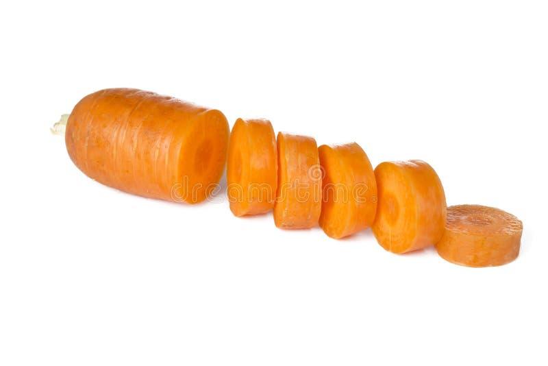 Zanahoria rebanada fotografía de archivo