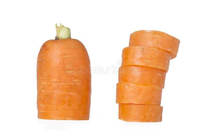 Zanahoria rebanada fotografía de archivo libre de regalías