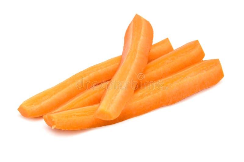 Zanahoria tajada fotografía de archivo libre de regalías