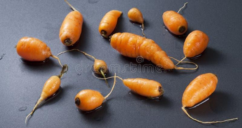 Zanahorias de bebé imagen de archivo