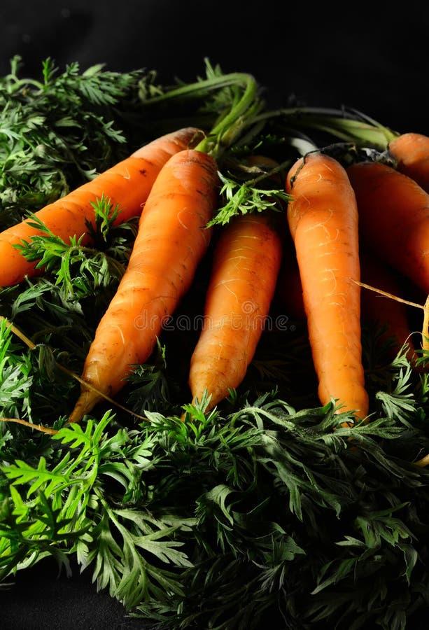 Zanahorias orgánicas 2 foto de archivo