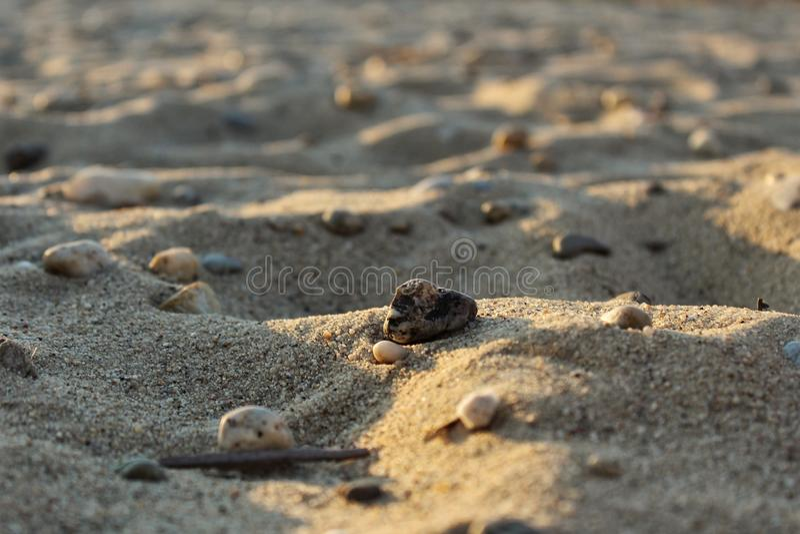 Zand stock fotografie