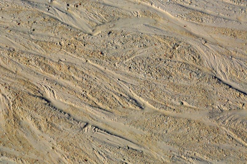 Zand abstracte oppervlakte stock foto