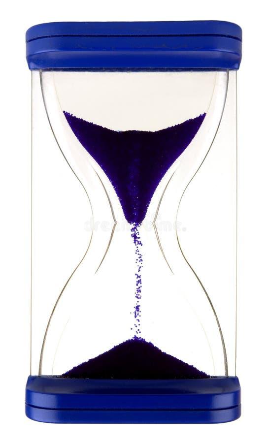 Zand-glas stock afbeelding