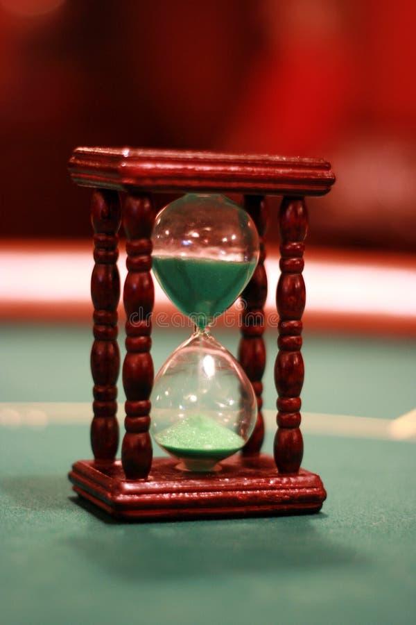 Zand-glas royalty-vrije stock fotografie