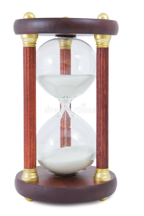 Zand-glas Stock Foto's