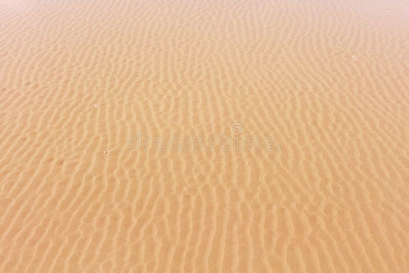 Zand onder het overzees stock afbeeldingen