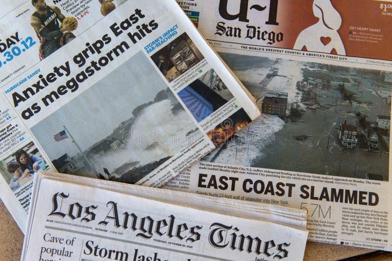 Zandige orkaan royalty-vrije stock fotografie
