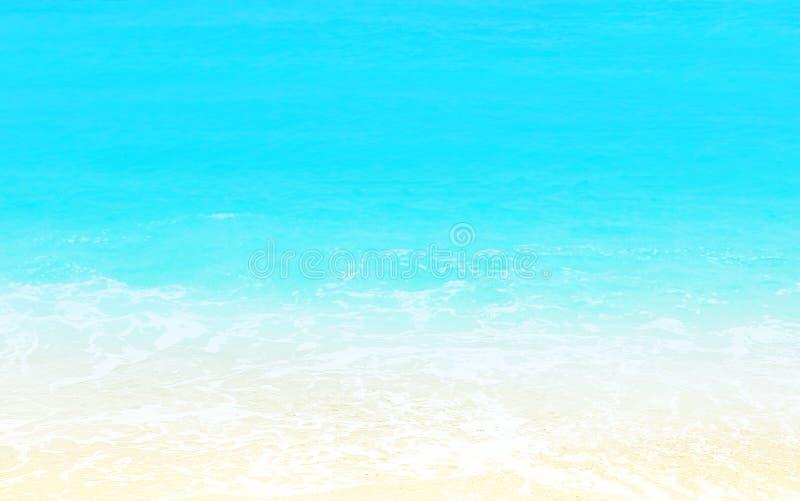 Zandige strandachtergrond royalty-vrije stock fotografie