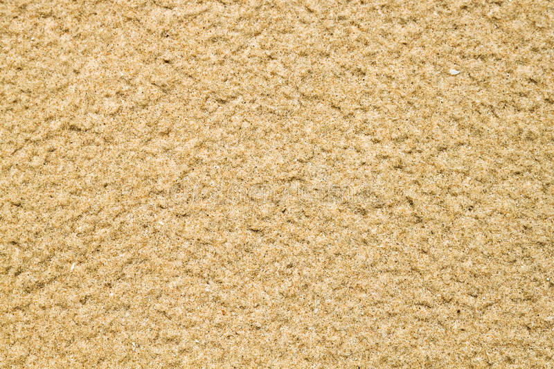 Zandpatroon op strand royalty-vrije stock afbeelding