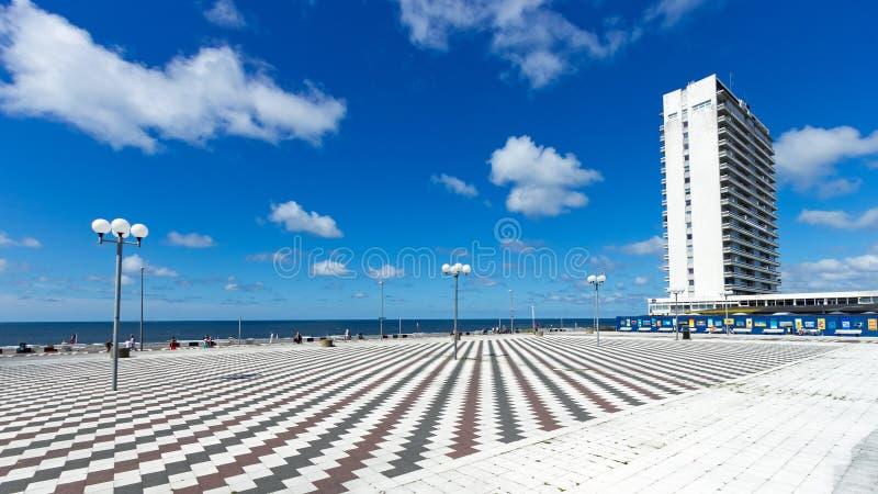 Zandvoort-Promenade lizenzfreies stockfoto