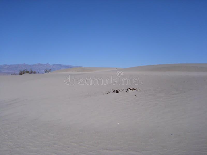 Zandwoestijn in Doodsvallei royalty-vrije stock fotografie