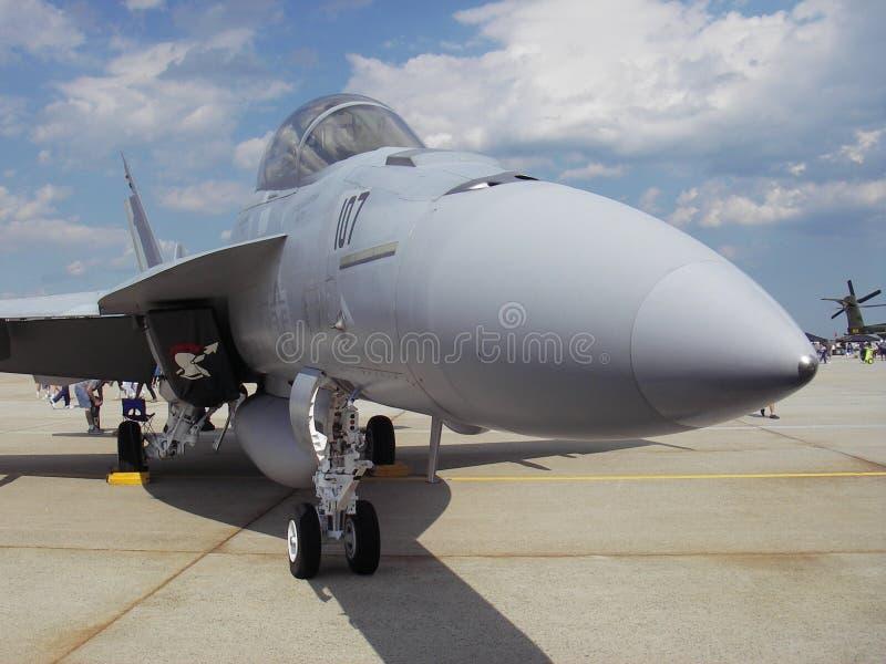 Zangão F18 imagem de stock royalty free