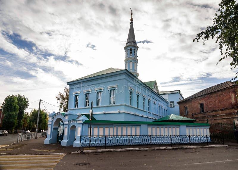 Zangar meczet w Starej Tatar ugodzie Kazan zdjęcie royalty free