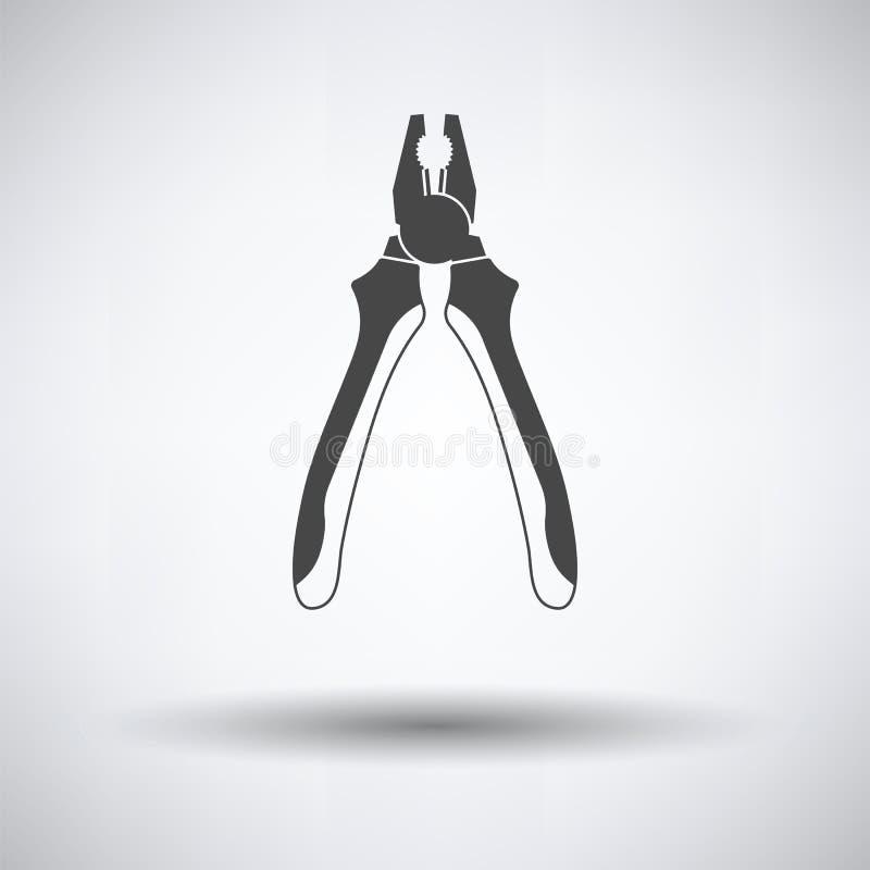 Zangenwerkzeugikone vektor abbildung