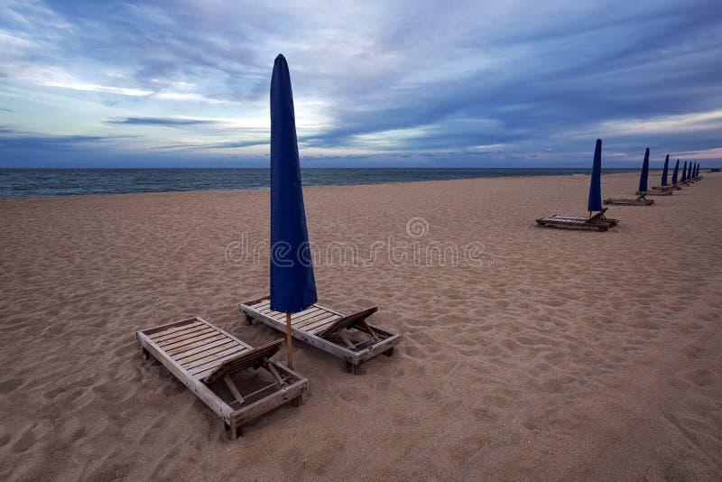 Zanger Island City Beach royalty-vrije stock afbeelding
