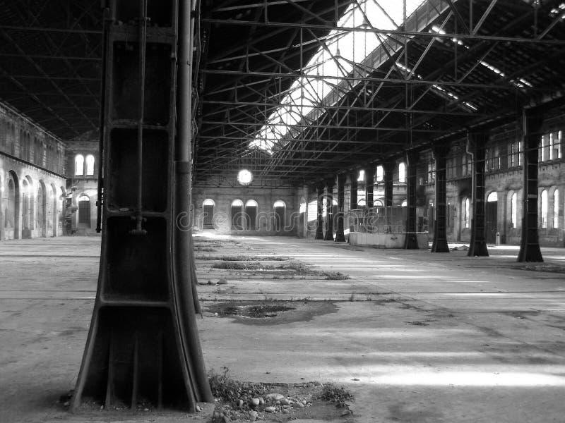zaniechana fabryka obrazy stock