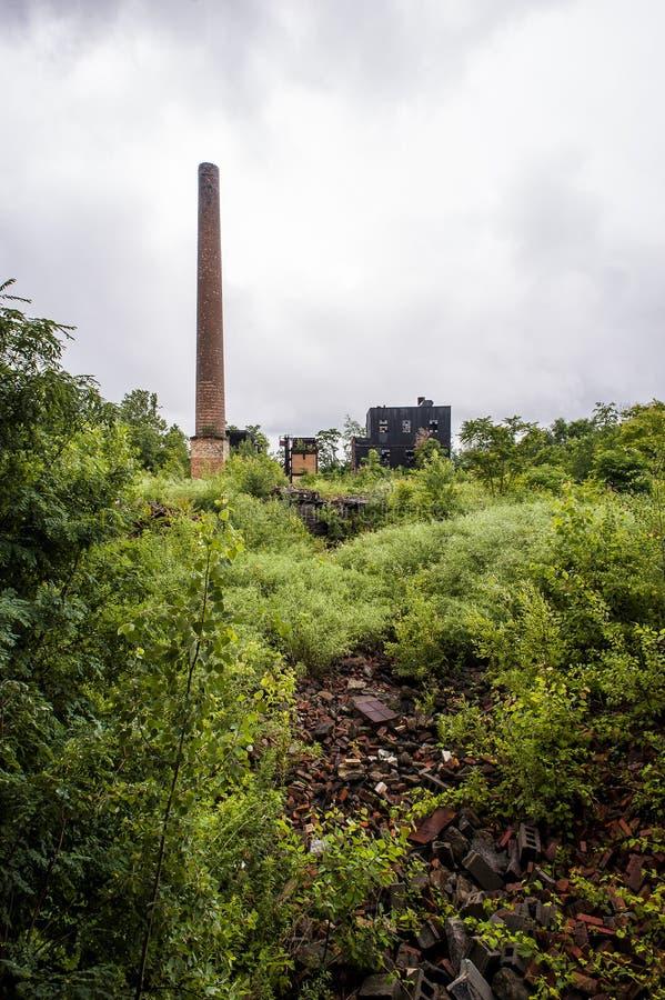 Zaniechana fabryka - Youngstown, Ohio obraz royalty free