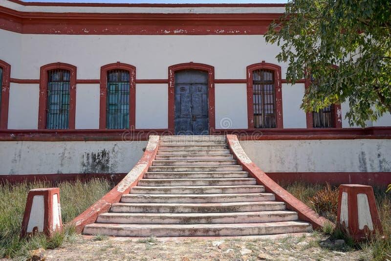 Zaniechane hacjendy wejściowe w Mexico fotografia royalty free